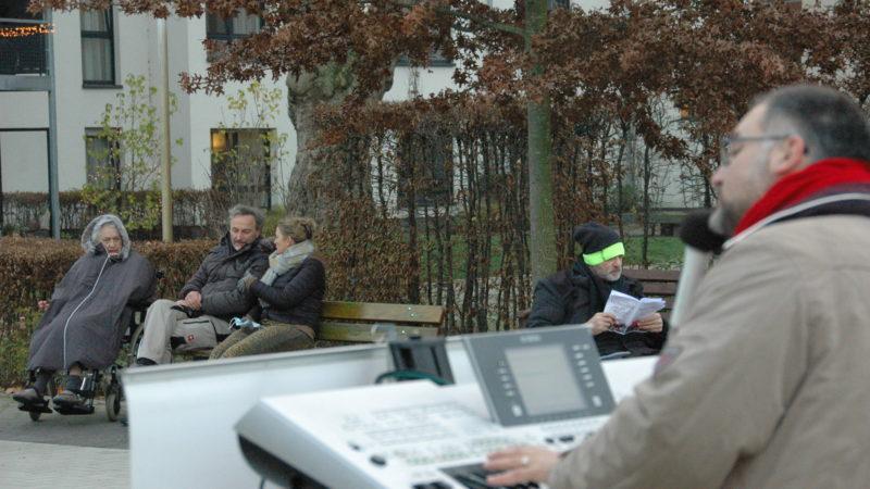 Adventliches Balkonkonzert mit Lars Giesen (1. Advent, 29. November 2020)