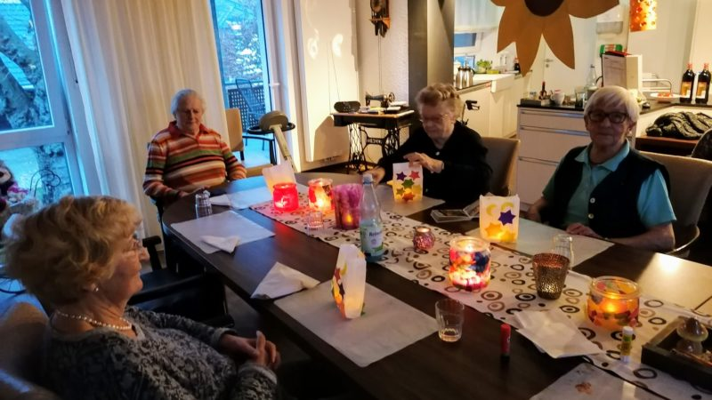 Martinsnachmittag im Witte Hüs, WG Sommer (11. November 2020)