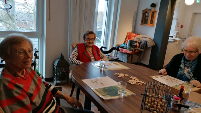 Bingo in WG Winter, Witte Hüs (19. November 2020)